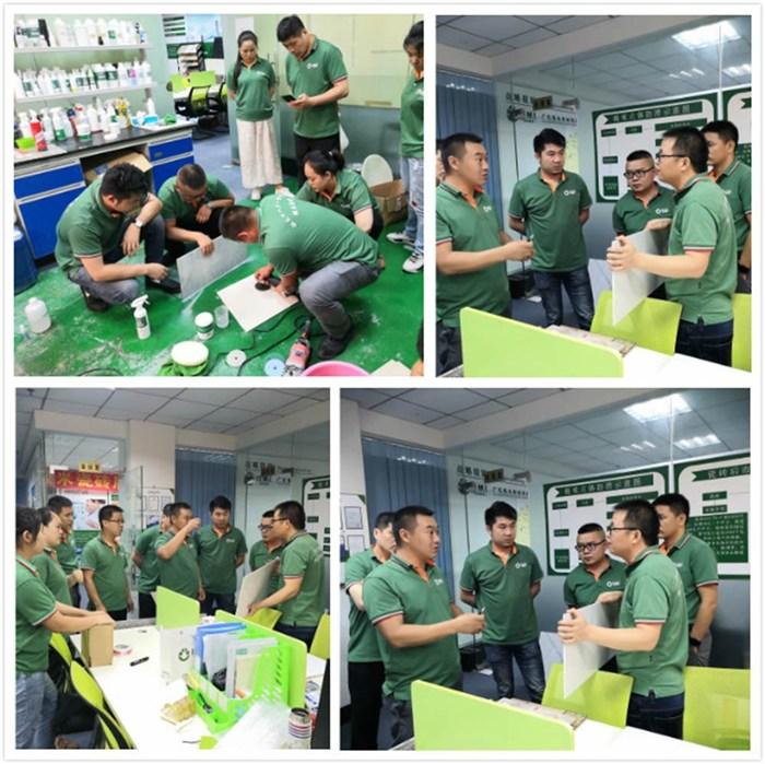 广东瓷砖修补培训-瓷砖修补-极米修复防滑