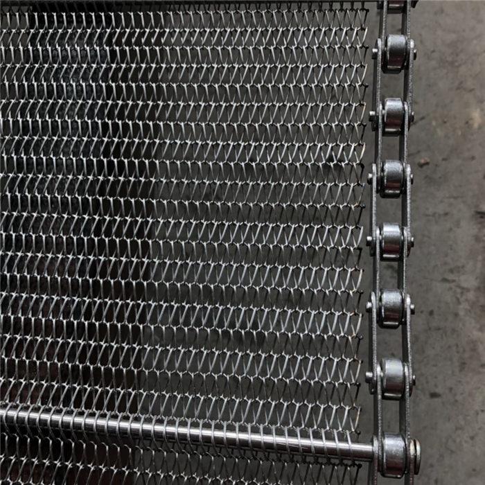 玉米蒸煮网带-卓远输送设备-云阳县蒸煮网带
