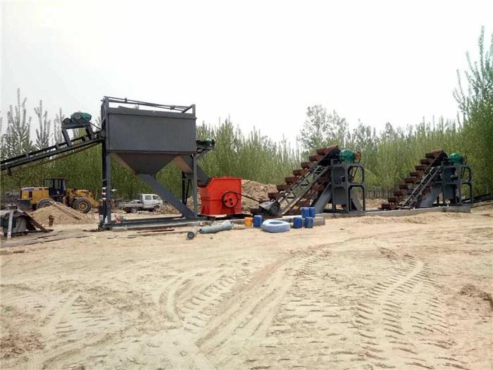 破碎制沙机,扬帆机械,高平破碎制沙机