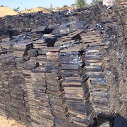 卸煤沟铸石板报价 辉绿岩铸石板胶泥 超鸿橡塑