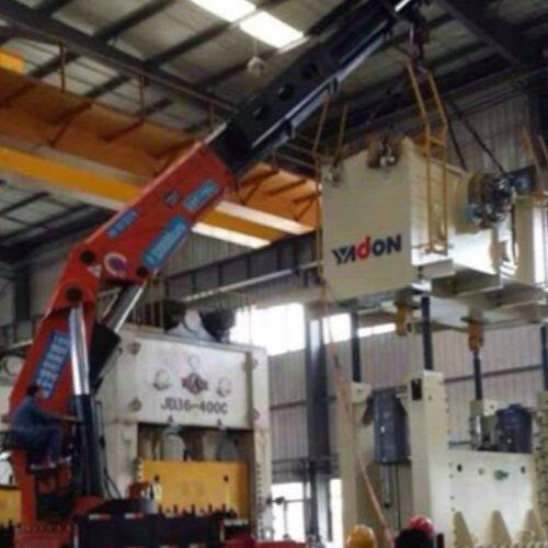 冷水机组吊车租赁 安特起重吊装 吊车租赁 厂房吊车租赁价位