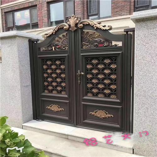 定制铝艺大门铝艺大门定做 营顺 模型铝艺大门庭院铝艺大门