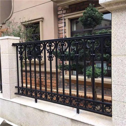 铝艺雕花护栏铝艺围栏铝艺大门护栏安装 营顺