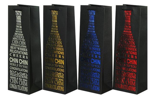 红酒纸袋设计加工销售