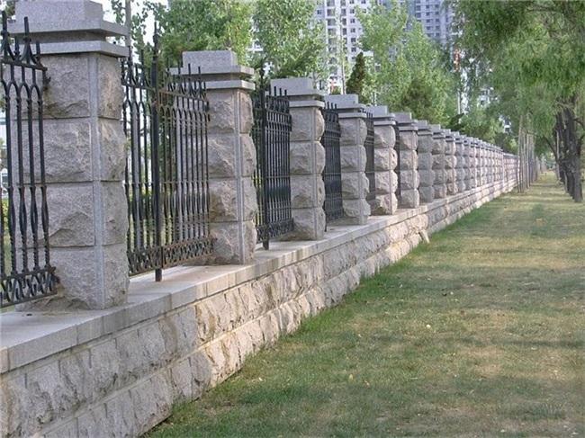 外墙砖 别墅 蘑菇石材、军鑫石材、蘑菇石