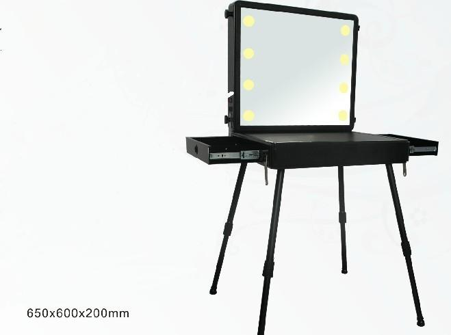 USB插孔化妆镜台,桀旺化妆镜台,海宁化妆镜台