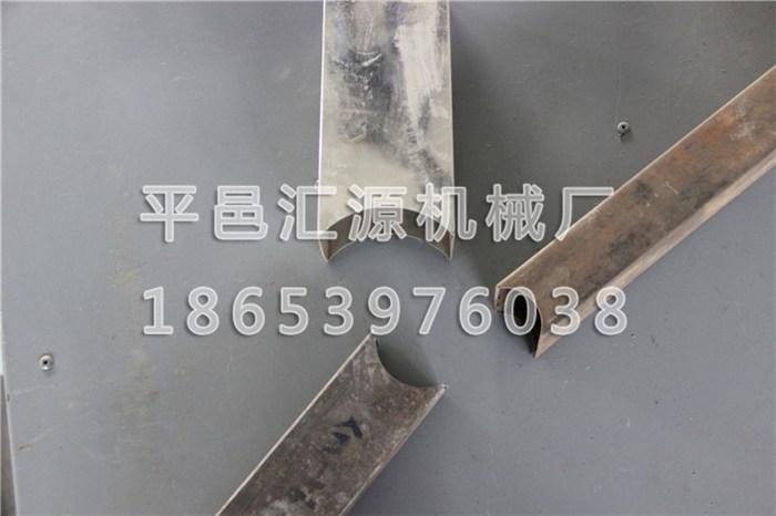 弧口冲孔机 槽钢冲孔机 防护栏冲报价