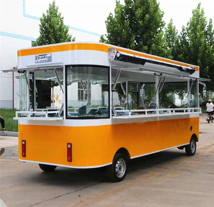 电动美食车、亿品香餐车、渭南电动