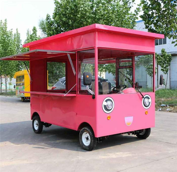电动三轮餐车_乌兰察布 电动_亿品香餐车