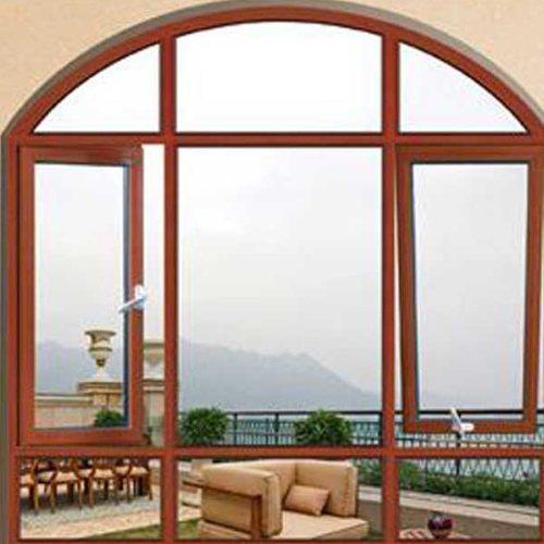 隔音断桥铝合金窗定做 三朵云门窗 120系列断桥铝合金窗加工