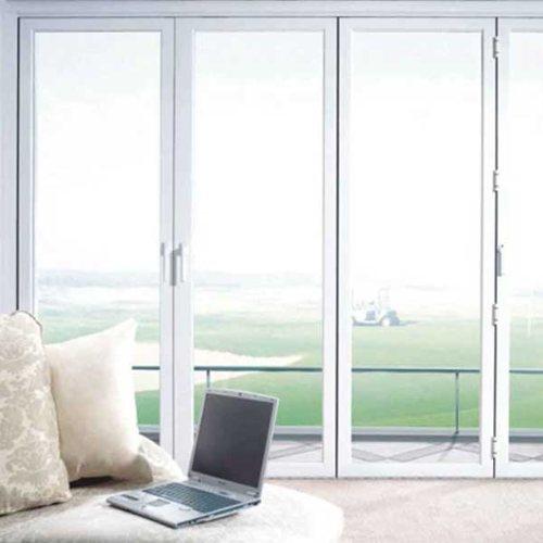 中式断桥铝合金门窗定做 隔热断桥铝合金门窗哪里有 三朵云门窗