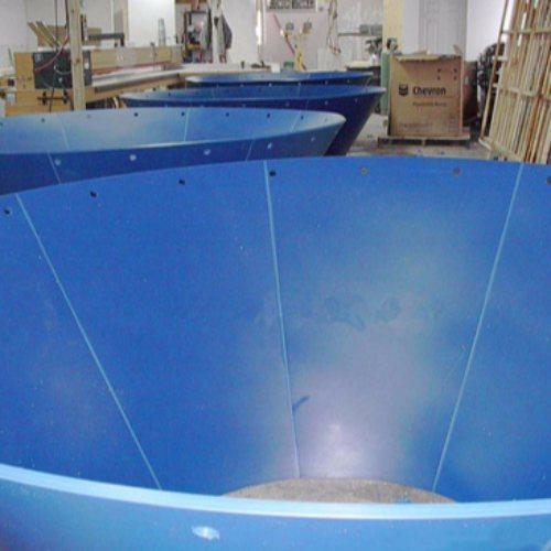 康特板材 煤仓衬板生产商 高分子聚乙烯煤仓衬板安装