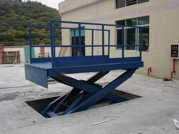 升降安全穩定性高(圖)、裝卸貨升降台、德陽卸貨升降台