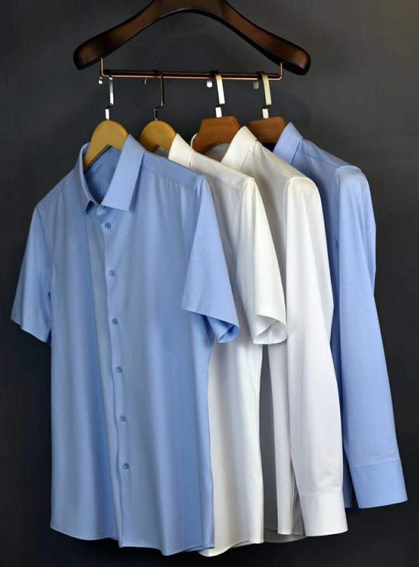 V領襯衫定做、凱雄服裝(在線咨詢)、襯衫