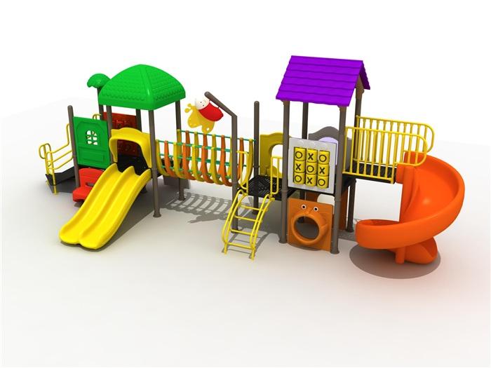 幼儿园组合滑梯图片/幼儿园组合滑梯样板图 (1)