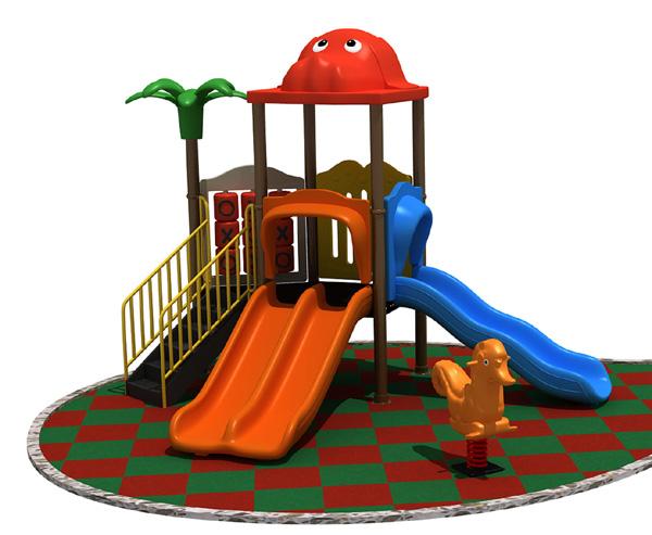 小型儿童组合滑梯图片/小型儿童组合滑梯样板图 (1)