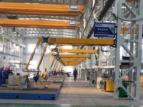 电动液压式焊机空间臂_焊机空间臂_旭泰机械(查看)