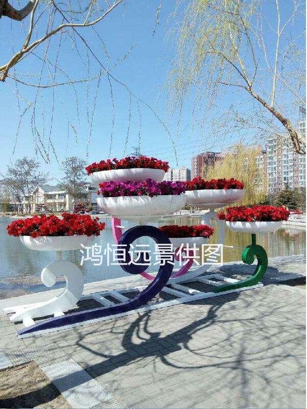 绿化容器、鸿恒远景、园艺塑料花盆绿化容器