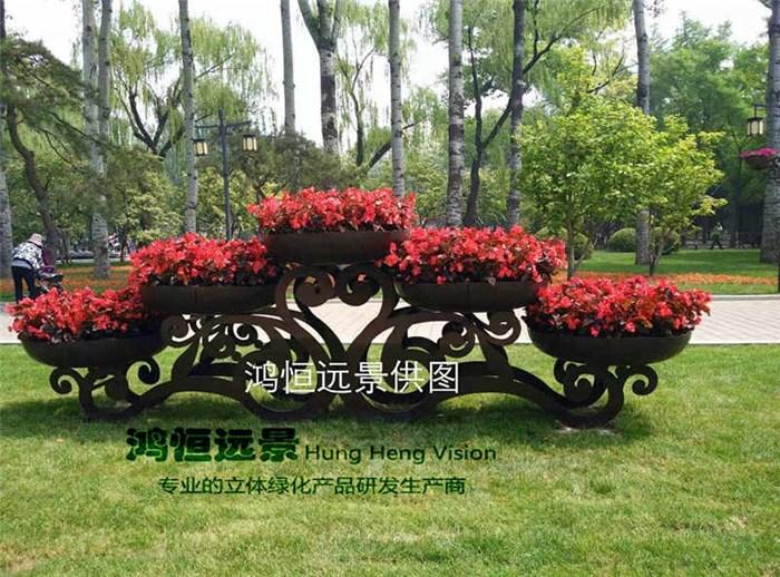 花架|鸿恒远景|园林绿化花架