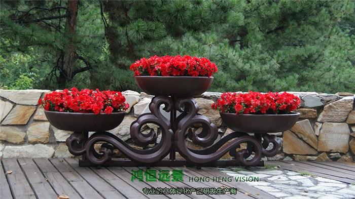 园林艺术花架-花架-鸿恒远景