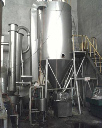 卧式喷雾干燥机、喷雾干燥机、一步干燥