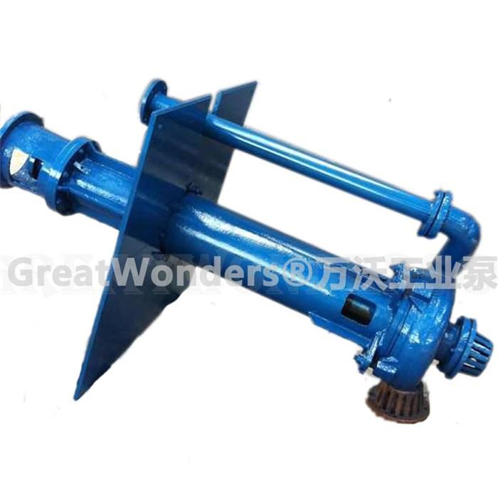 内蒙古50ZJL-B40耐磨吸沙泵,氧化铝厂立式泵