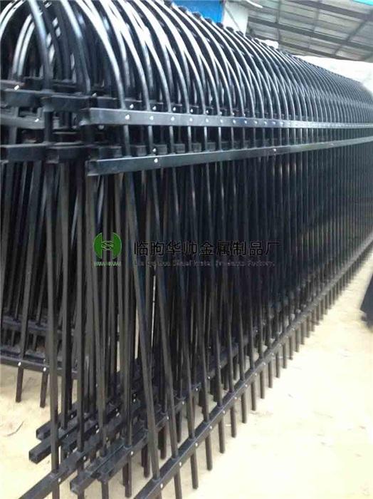 大连围墙护栏静电喷涂栅栏热镀锌报价
