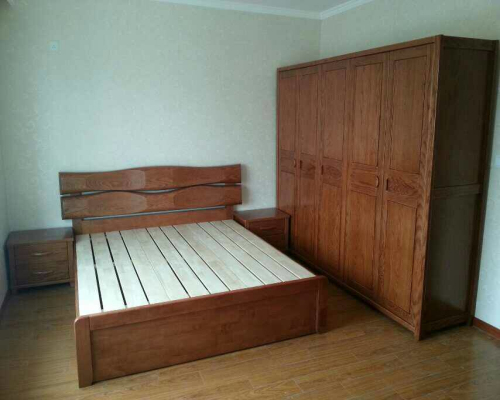 买实木床去哪里买、澳科森、太原实木床