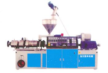 海天塑料机械(图)、塑料波纹管设备生产线、波纹管设备