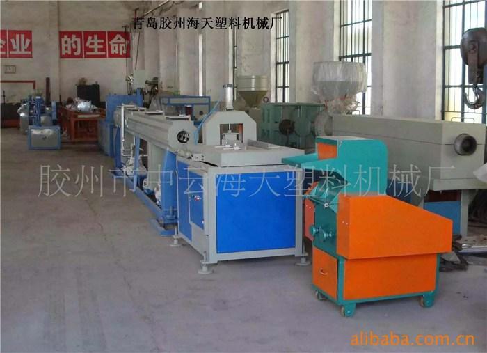 青岛海天塑料机械,hdpe双壁波纹管设备,波纹管设备