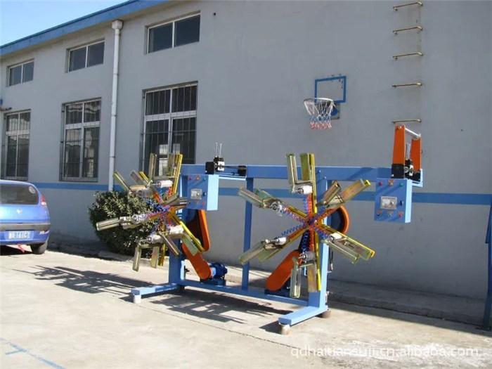 拉丝机、青岛海天塑料机械、pet圆丝拉丝机