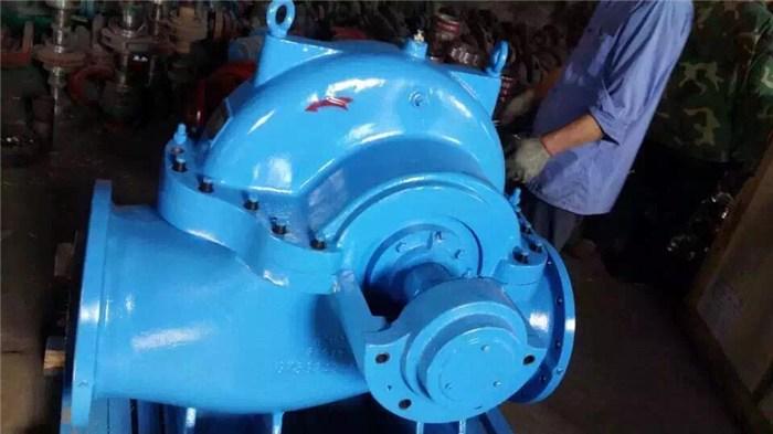强盛泵业(图)_不阻塞SH型双吸泵_SH型双吸泵
