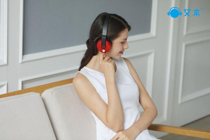 蓝牙耳机可以连接手机|蓝牙耳机|艾本耳机
