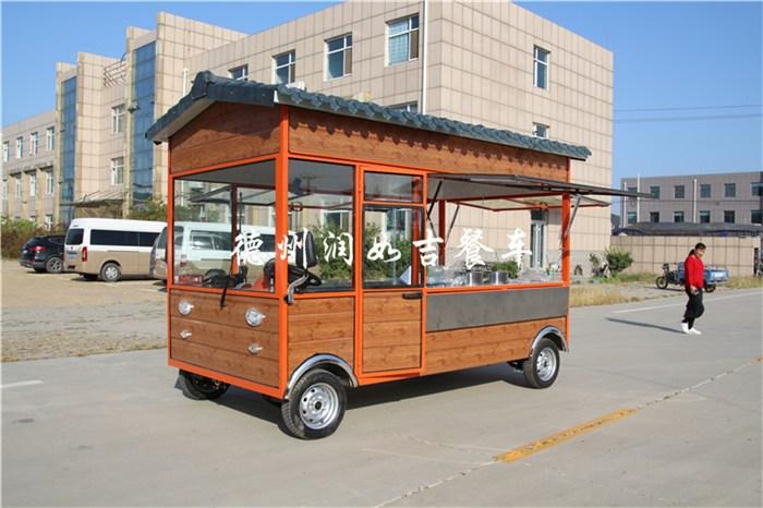 多功能餐车小吃车图片/多功能餐车小吃车样板图 (1)