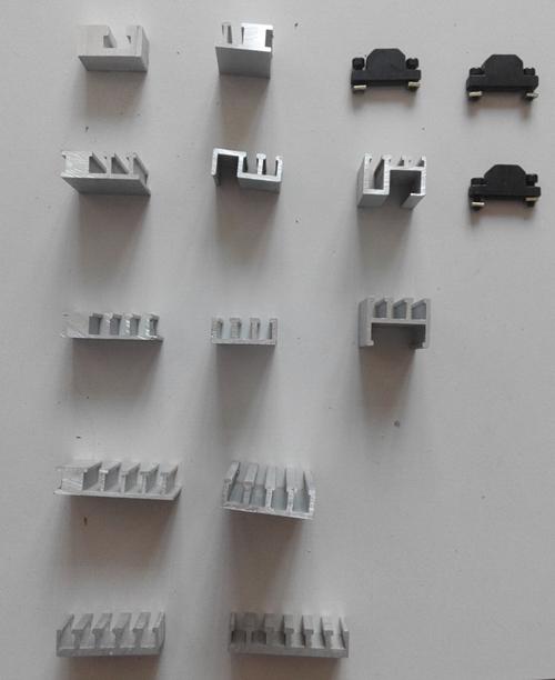 四槽铝合金槽板_机床刮削板_铝合金槽板