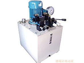 带截止阀电动泵|电动泵|星科液压(查看)