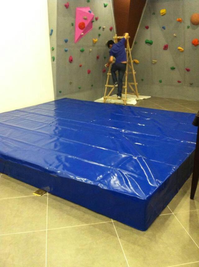 健步牌攀岩运动垫,攀岩海绵垫子攀岩垫攀岩抱石垫,攀岩垫