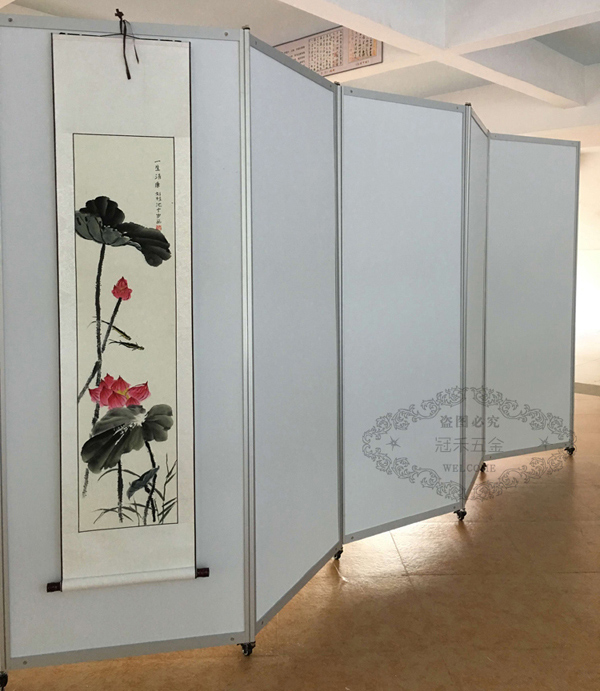 美术作品展示架(多图)|画廊挂画展架